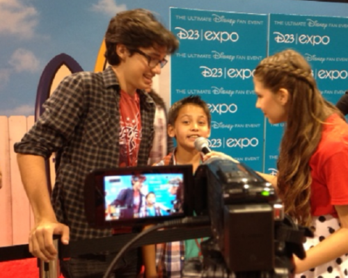 Interviewing Joey Bragg and Tenzing Trainor of Disneys