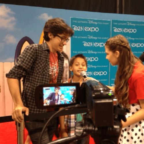 Interviewing Joey Bragg and Tenzing Trainor of Disney