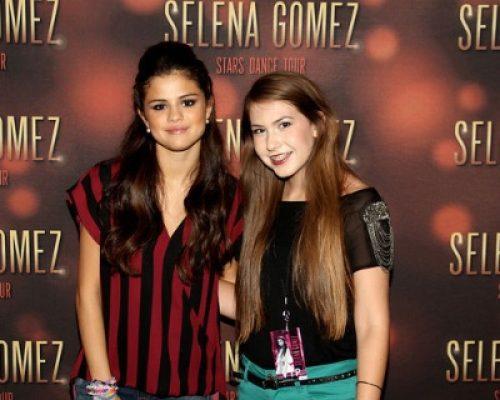 Selena Gomez and Katelyn Darrow.