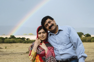 Malala and her father = Squad goals. (via Twitter)