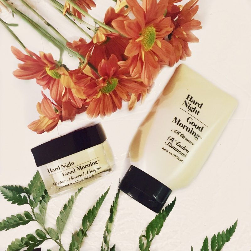 BLOGPOST: Hard Night Good Morning Natural Skincare