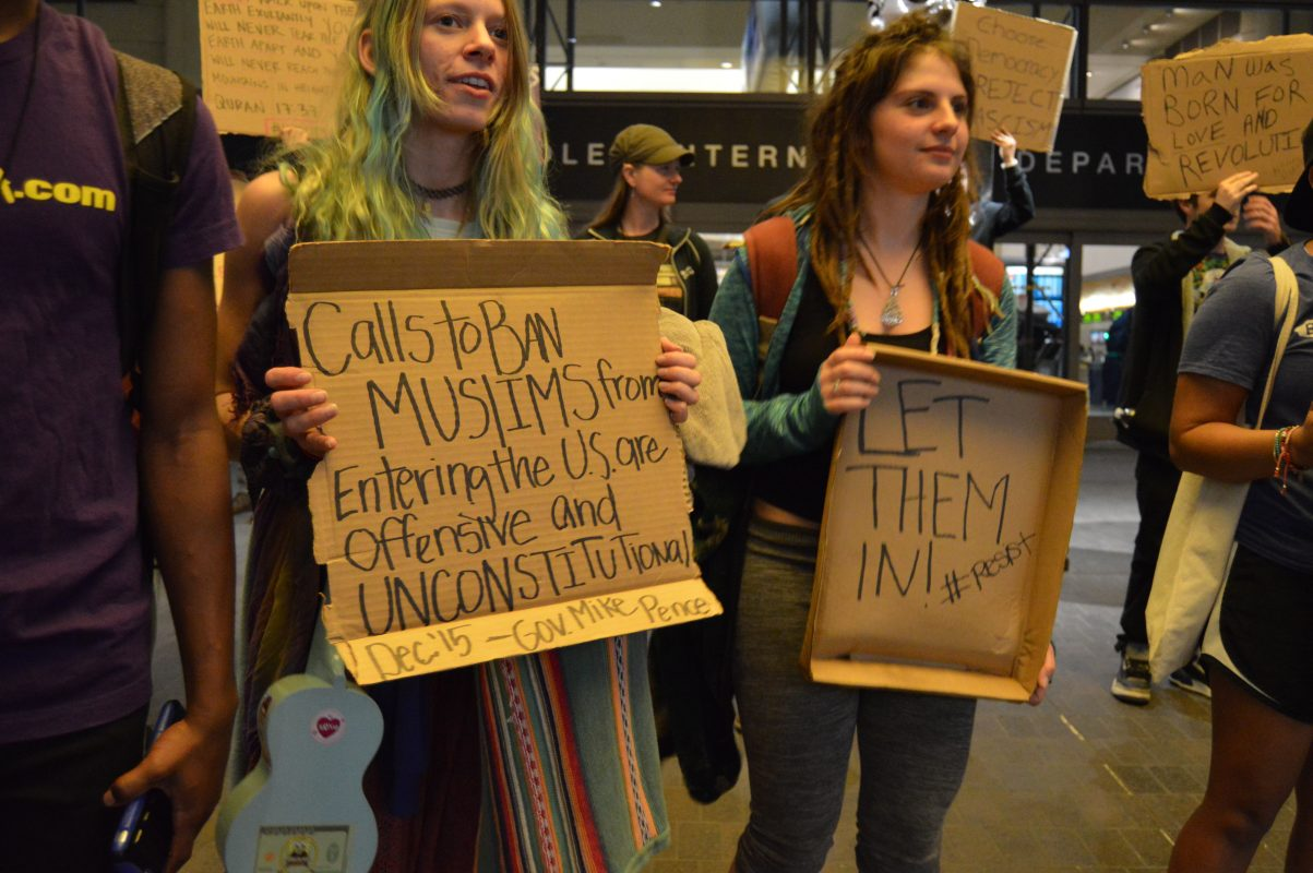 BLOGPOST: Protesting Trump's Immigration Ban at LAX